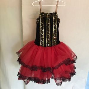 Other - Ballerina Child's costume with sequins